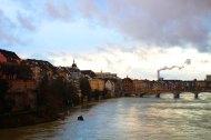 Petite vue sur Bâle, le temps d'une éclaircie...