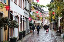 Jolis décors dans les rues de Fribourg...