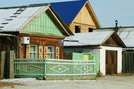 Maison de bois typique