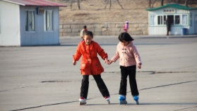 filles aux patins