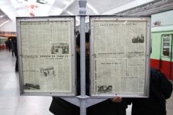 journal dans le metro