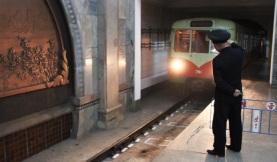 metro arrivant
