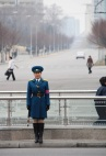 traffic girl pyongyang