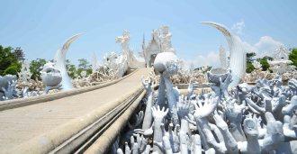 Le temple blanc... Et sa porte sur l'enfer?