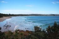 Les surfeurs de Byron Bay