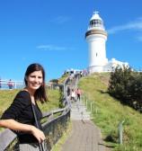 Tout près du phare de Cap Byron, le point le plus à l'est de l'Australie
