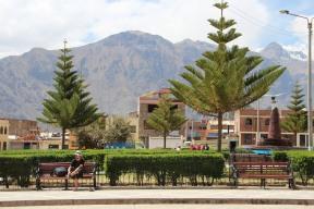 Le centre de Cabanaconde...