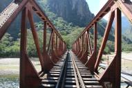 Magnifique pont pour traverser le fleuve...