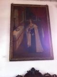 Tiens, un portrait de Louis IX (je crois), roi de France, dans une église brésilienne !