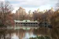 Jolis reflets à Central Park